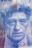 Swiss Franc note Stock Photo