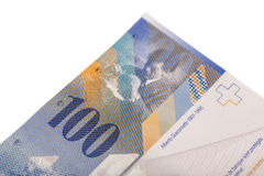 Swiss frank Royalty Free Stock Images