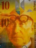 Swiss frank Royalty Free Stock Image