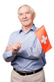 Swiss friendship. Royalty Free Stock Photo