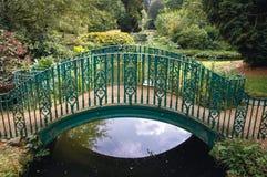 Swiss Garden in Biggleswade. Biggleswade, UK - September 27, 2006: Bridge in Swiss Garden in Old Warden Park located in Biggleswade on the River Ivel in Stock Photography