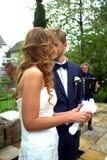 Swiss garden wedding stock photography