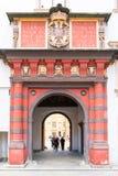 Swiss gate of Hofburg Palace, Vienna, Austria Royalty Free Stock Photos