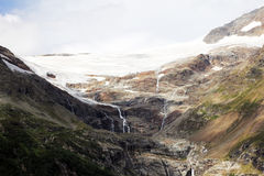 Swiss glacier Stock Images