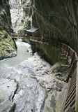 Swiss gorges Stock Photos