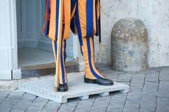 Swiss guard Stock Photography