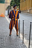 Swiss guard Royalty Free Stock Photography