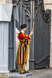 Swiss Guard Stock Photography