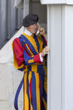 Swiss Guard of Vatican City Stock Photos