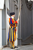 Swiss Guard in Vatican City Royalty Free Stock Image