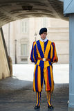 Swiss Guard in Vatican City Royalty Free Stock Images