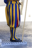 Swiss Guard of Vatican City Stock Image