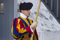 Swiss Guard of Vatican City Stock Photography