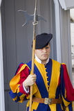 Swiss Guard of Vatican City Royalty Free Stock Photos