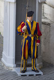 Swiss Guard of Vatican City Stock Photo