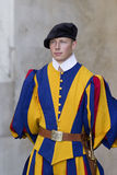 Swiss Guard of Vatican City Royalty Free Stock Images