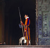 Swiss Guard Royalty Free Stock Image