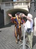 Swiss Guard,Vatican, Rome, Italy Royalty Free Stock Photos