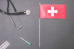 Swiss healthcare Stock Images