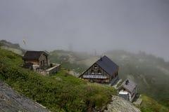 Swiss hut Royalty Free Stock Image