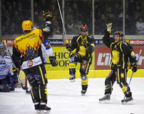 Swiss Ice Hockey LNA Royalty Free Stock Images