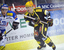Swiss Ice Hockey LNA Stock Photography
