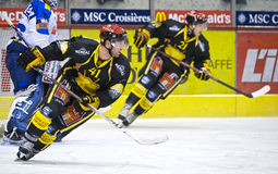 Swiss Ice Hockey LNA Royalty Free Stock Photography