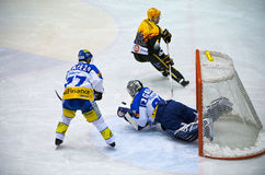Swiss Ice Hockey LNA Stock Image