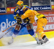 Swiss Ice Hockey LNA Royalty Free Stock Photo