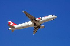 Swiss International Airlines A320. Stock Image