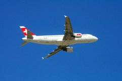 Swiss International Airlines Airbus A320. Stock Photography