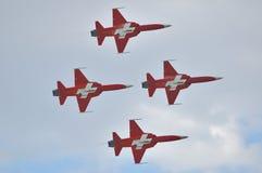 Swiss Jets Stock Image