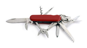 Swiss knife Royalty Free Stock Images