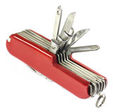Swiss knife Stock Images