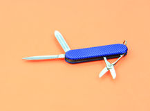 Swiss knife Royalty Free Stock Photos