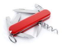 Swiss knife Stock Photography