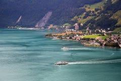 Swiss lake Stock Photos