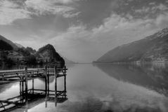 Swiss Lake Royalty Free Stock Photography