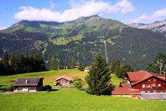 Swiss landscape Stock Photos