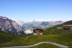 Swiss landscape Royalty Free Stock Photography