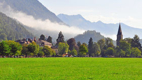 Swiss landscape, Interlaken Royalty Free Stock Photo