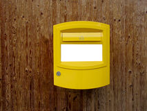 Swiss letterbox Stock Images