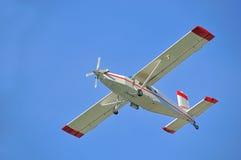 Swiss made airplane Stock Photos