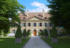 Swiss Mansion Royalty Free Stock Photography