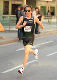 Swiss marathon runner Viktor Rothlin Stock Photos