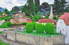 Swiss miniature park Royalty Free Stock Images