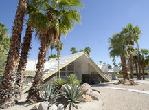Swiss Miss House Palm Springs Royalty Free Stock Images