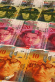 Swiss money Stock Photos