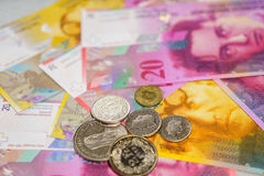 Swiss money Royalty Free Stock Image