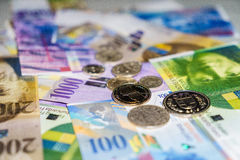 Swiss money Royalty Free Stock Photography